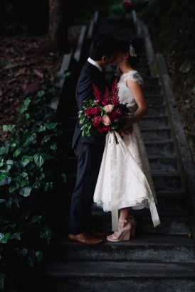 Sweet Vintage Valentines Wedding Inspiration088