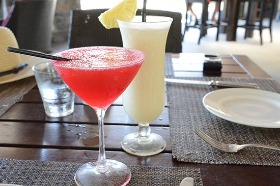 Toba bar and grill cocktails