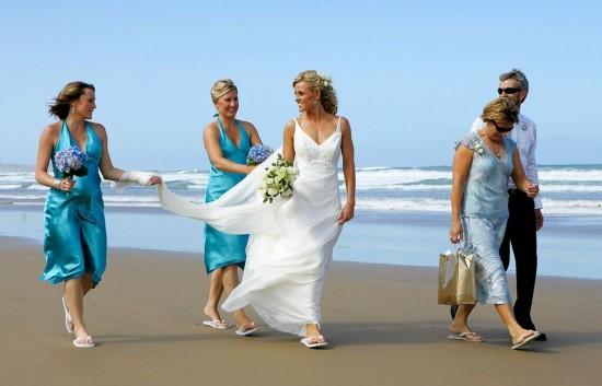 Darryn beach wedding 1