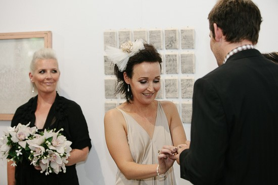 Intimate Melbourne Art Gallery Wedding023