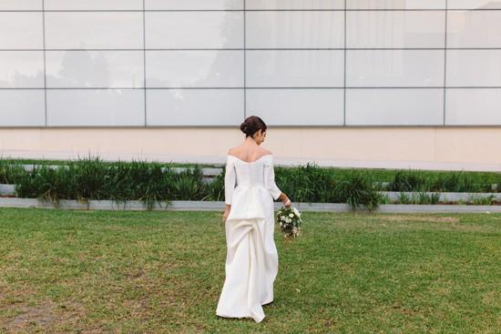 Modern Art Gallery Wedding046