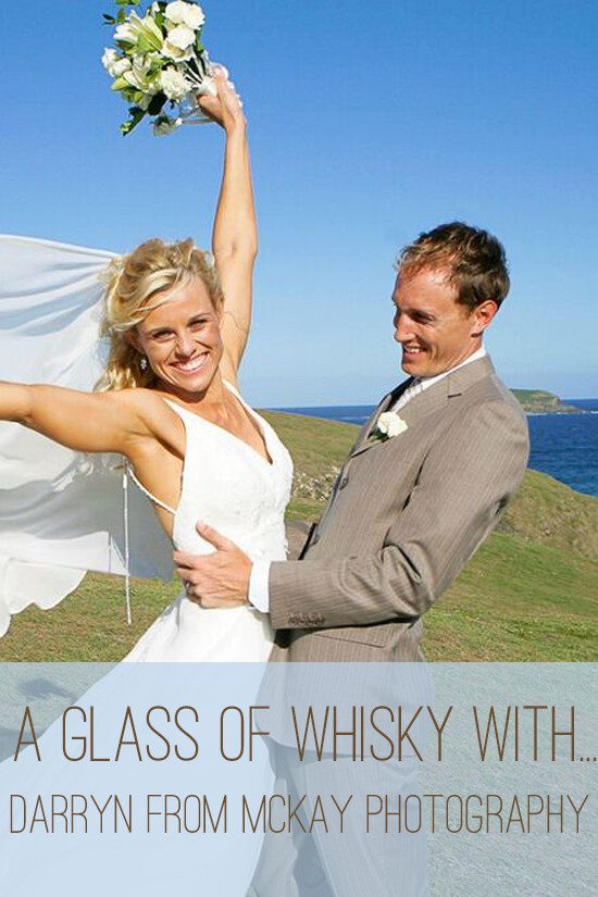 a glass of whisky Darryn