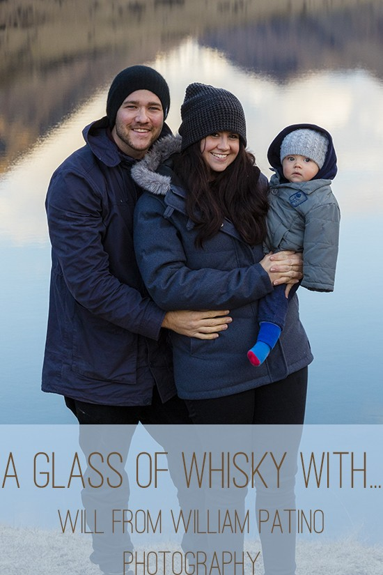 a glass of whisky with will