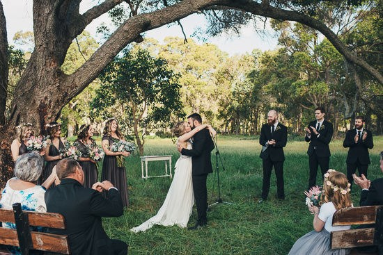 Bohemian Country Backyard Wedding059