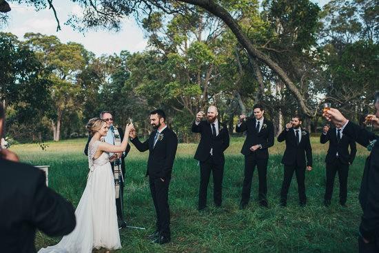 Bohemian Country Backyard Wedding069