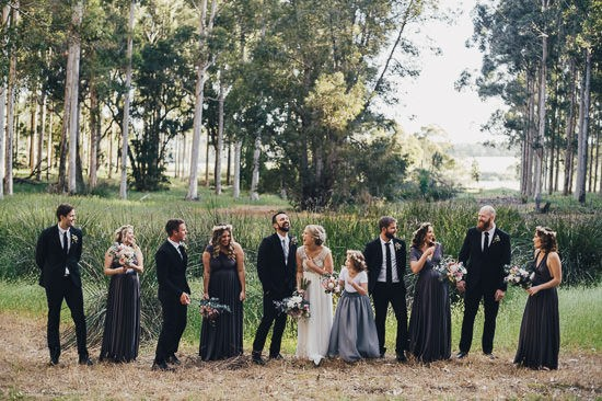 Bohemian Country Backyard Wedding077