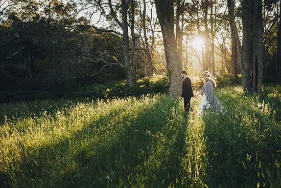 Bohemian Country Backyard Wedding087