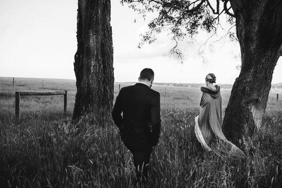 Bohemian Country Backyard Wedding090