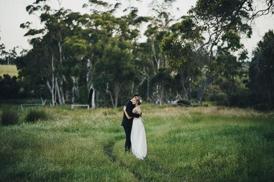 Bohemian Country Backyard Wedding093
