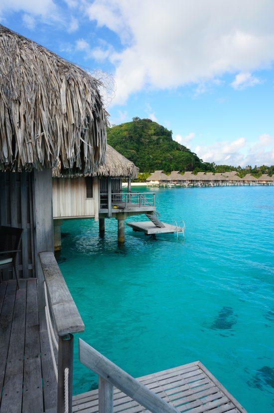 Hilton overwater bungalow