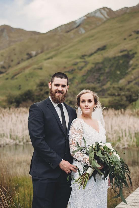Intimate Queenstown Lake Wedding119