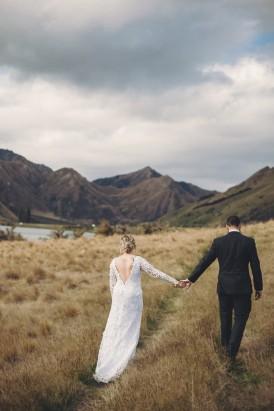 Intimate Queenstown Lake Wedding151