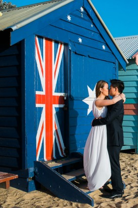 Modern Beachside Engagement Photos017