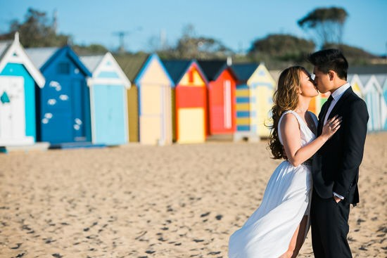 Modern Beachside Engagement Photos020