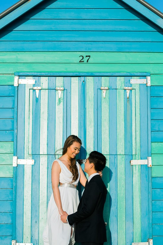 Modern Beachside Engagement Photos042