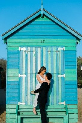 Modern Beachside Engagement Photos044