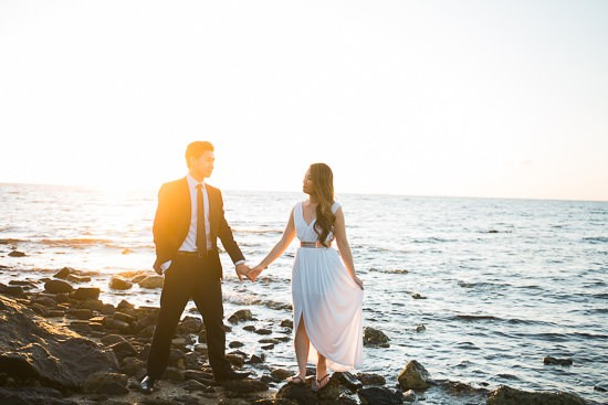 Modern Beachside Engagement Photos063