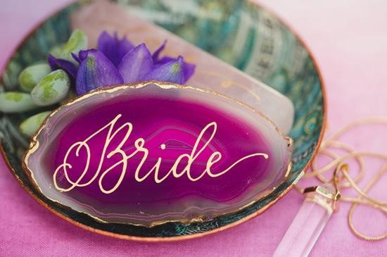 Playful Gemstone Inspired Bridesmaid Luncheon025