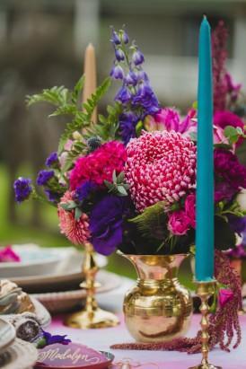 Playful Gemstone Inspired Bridesmaid Luncheon027