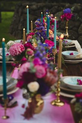 Playful Gemstone Inspired Bridesmaid Luncheon048