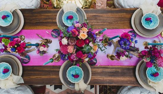 Playful Gemstone Inspired Bridesmaid Luncheon050