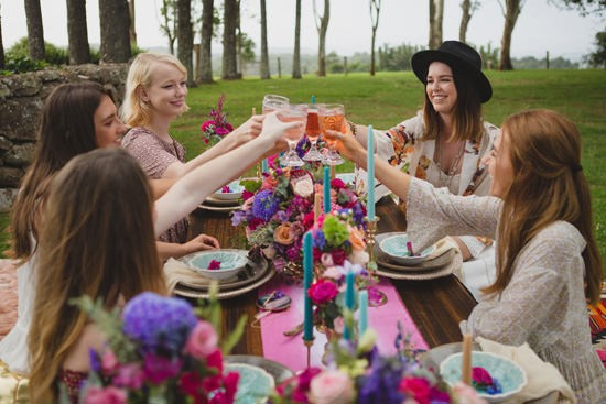 Playful Gemstone Inspired Bridesmaid Luncheon094