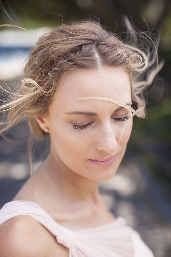 Relaxed romantic makeup