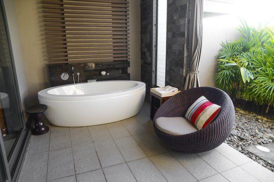 Club InterContinental Outdoor bath
