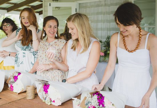Flower Filled Bridesmaid Party046