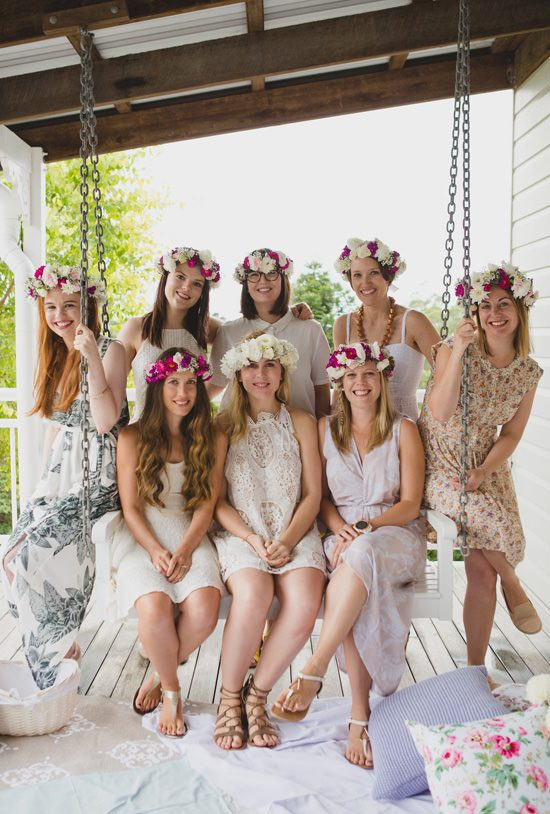 Flower Filled Bridesmaid Party113