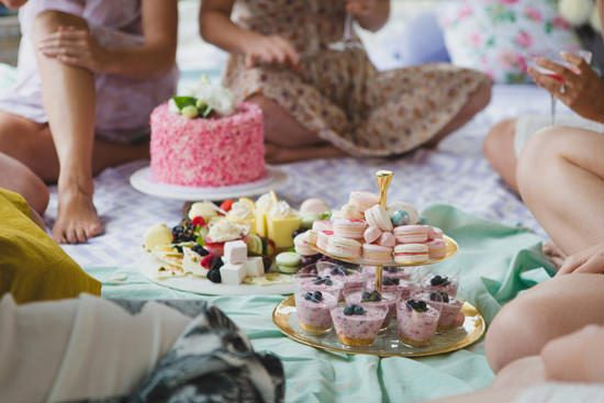 Flower Filled Bridesmaid Party146