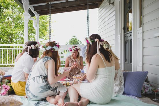 Flower Filled Bridesmaid Party148