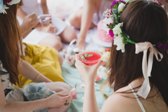 Flower Filled Bridesmaid Party149