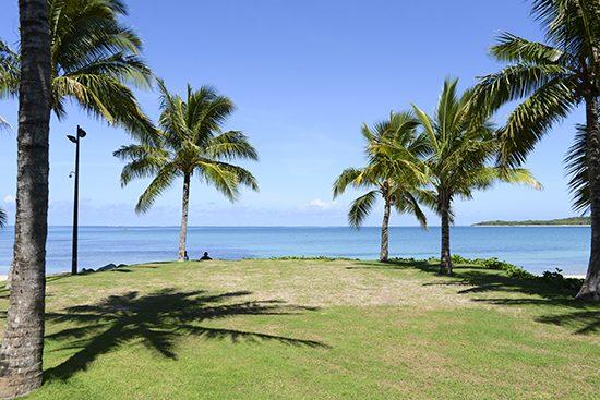 Intercontinental Fiji Chapel Lawn