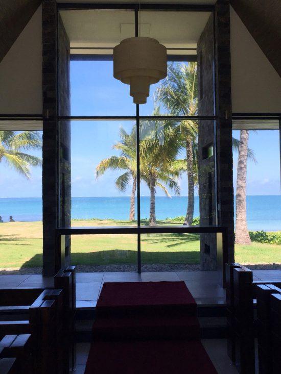 Intercontinental Fiji Wedding Chapel