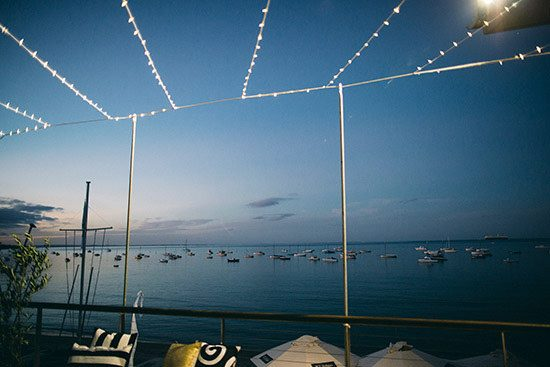Modern Waterside Wedding113
