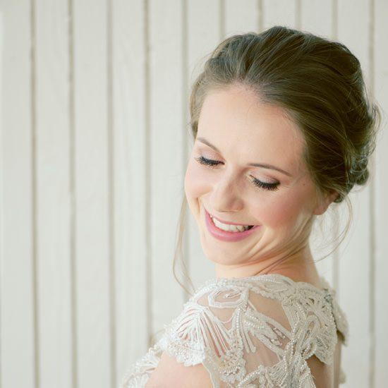 Romantic Bridal Bun Tutorial005