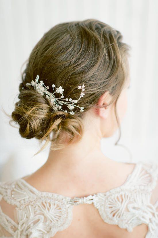 Romantic Bridal Bun Tutorial013