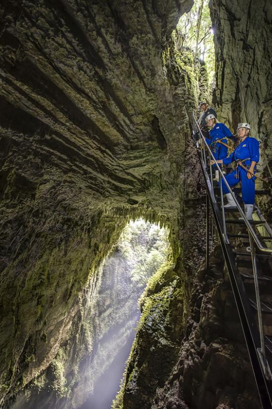 Adventurous honeymoon Trekking in Waitomo Caves New Zealand