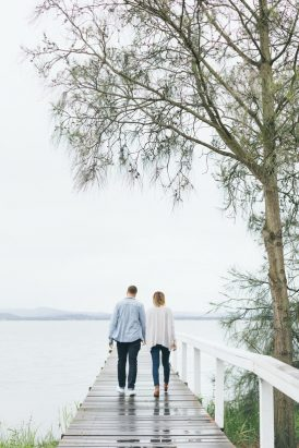 Relaxed And Romantic Engagement030