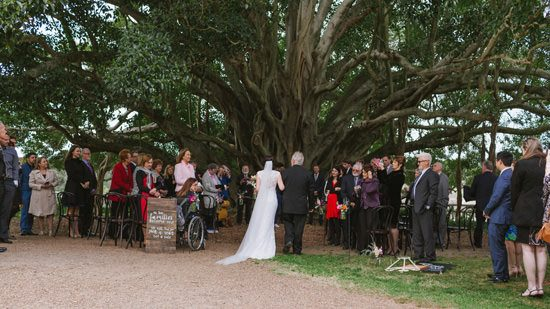 Relaxed Tocal Homestead Wedding024