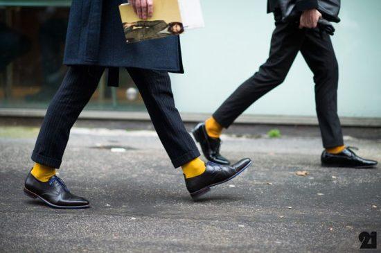 Yellow Sock Suit