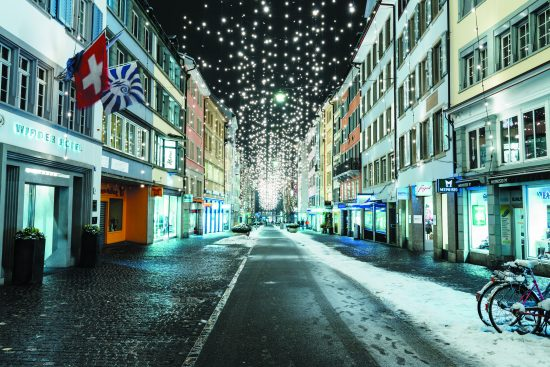 Places to Chase the Cold: Zurich