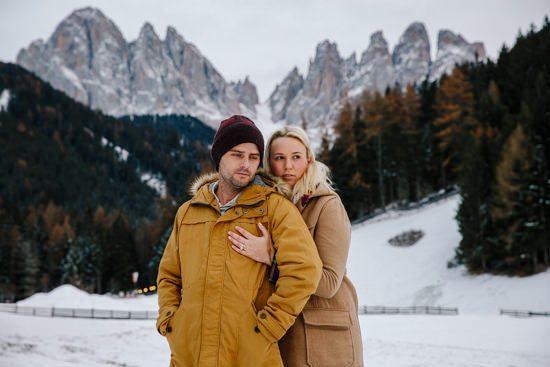 Italian Winter Engagement035