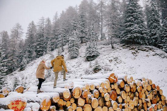 Italian Winter Engagement058