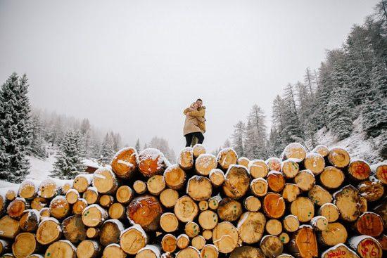 Italian Winter Engagement061