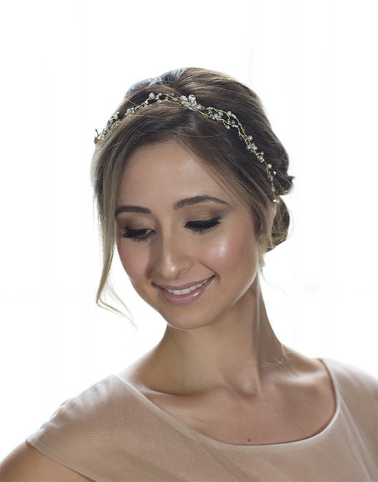 Metallic Bronze Wedding Makeup Tutorial