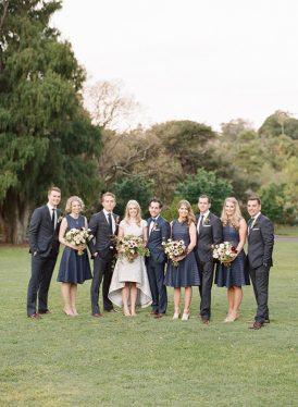 Modern Sydney Royal Botanic Gardens Wedding046