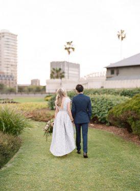 Modern Sydney Royal Botanic Gardens Wedding054