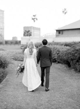 Modern Sydney Royal Botanic Gardens Wedding067